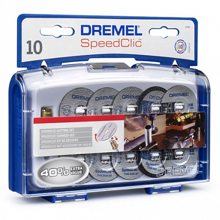 SC690 Набор насадок speedclic Dremel
